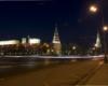 Ночь спустилась на город