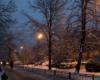 Автомобили ждут снегопада