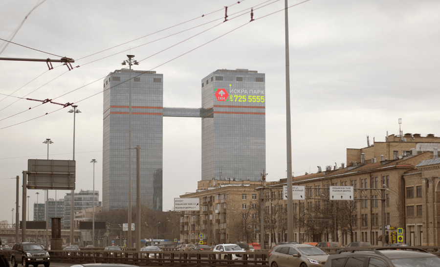 Здание Mail.ru на Ленинском проспекте