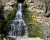 Водопад в деревне Паника